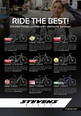 Ride the best – viele Testsieger