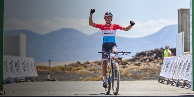 Soren Nissen beim 4 Stage MTB Race Lanzarote