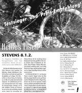 """Das Magazin """"bike"""" findet: Ein heißes Eisen!"""