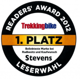 "1st Prize ""Trekkingbike"" Readers choice"
