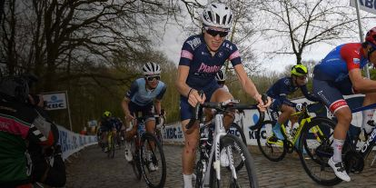 Yara Kastelijn auf STEVENS Bikes bei Gent-Wevelgem